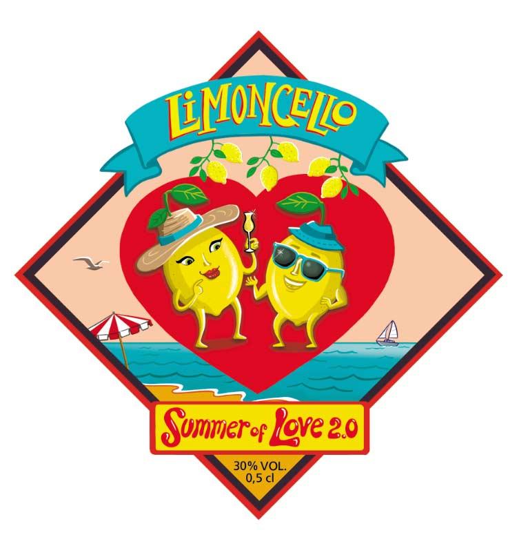 limoncello label flos vingerhoets
