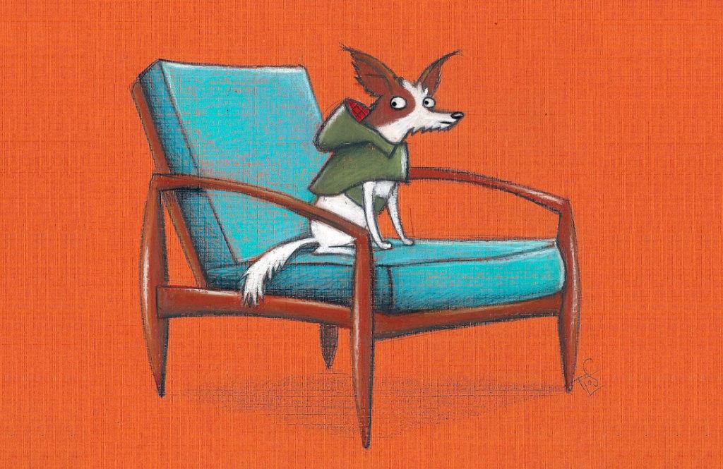 Dog serie Flos Vingerhoets