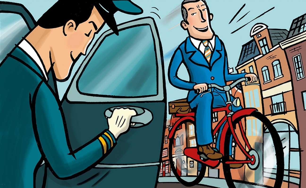 fiets flos vingerhoets