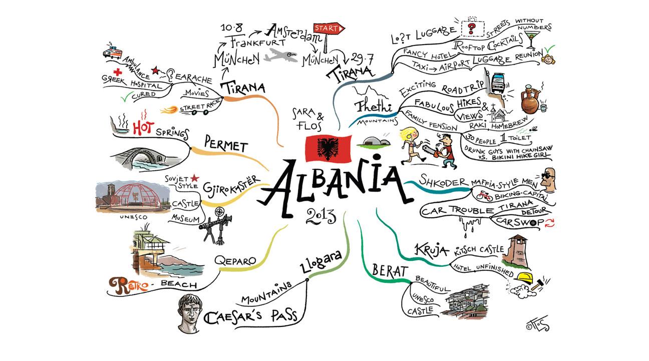albania, flos vingerhoets